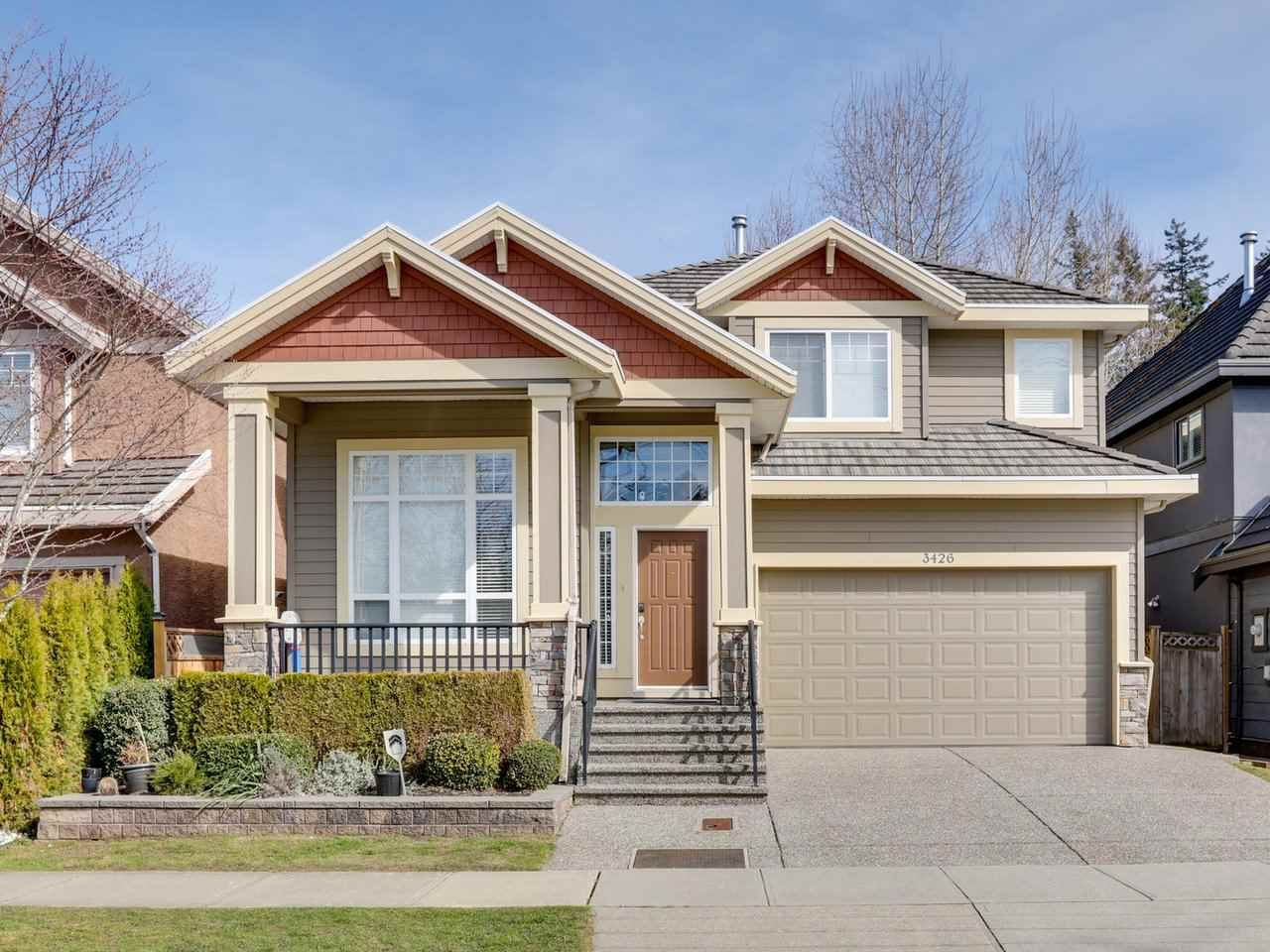"""Main Photo: 3426 150 Street in Surrey: Morgan Creek House for sale in """"Rosemary Heights West"""" (South Surrey White Rock)  : MLS®# R2572255"""
