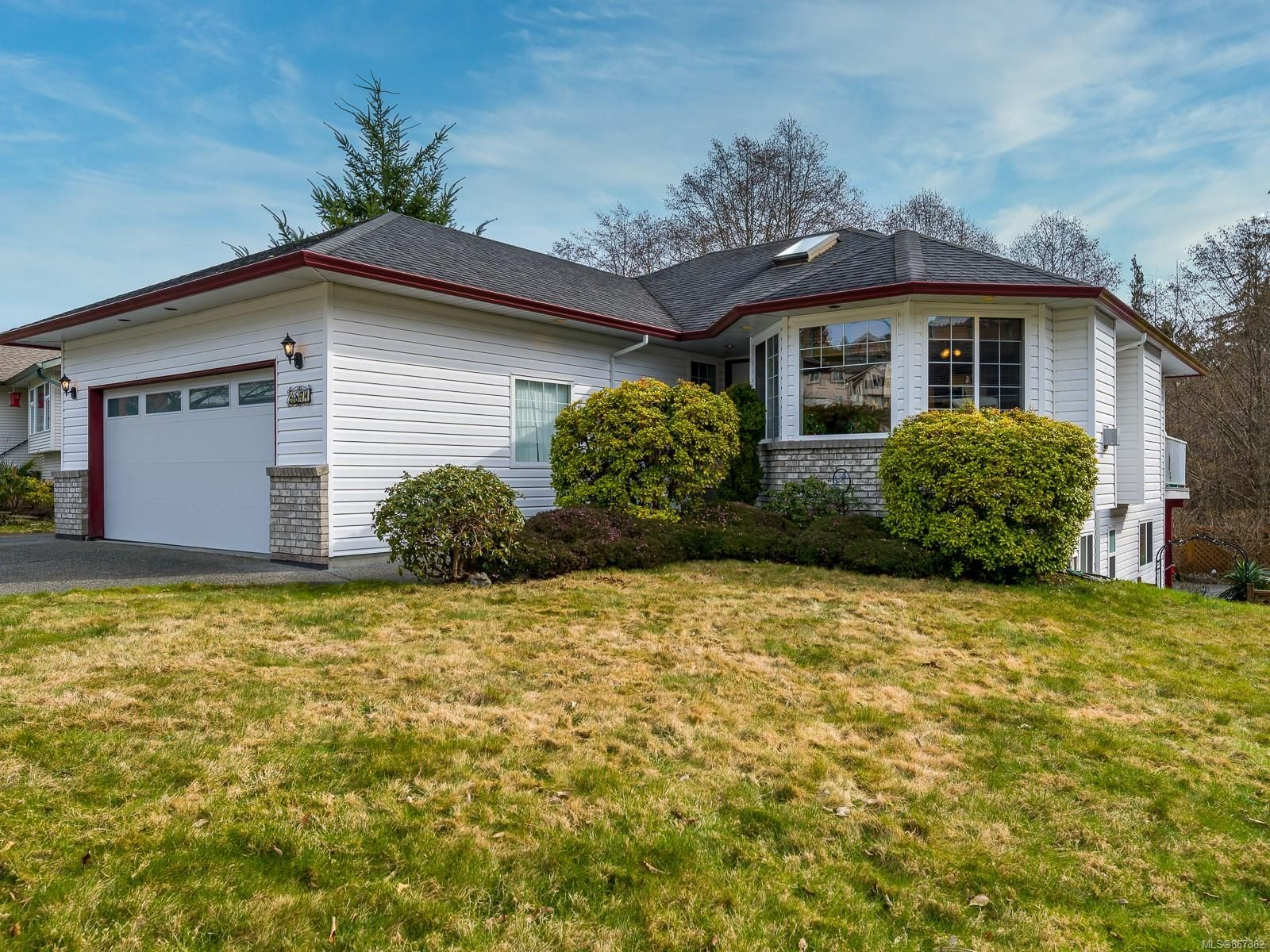 Main Photo: 4871 NW Logan's Run in : Na North Nanaimo House for sale (Nanaimo)  : MLS®# 867362
