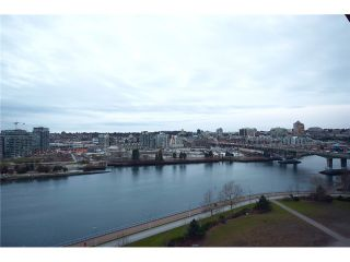 """Photo 9: 1203 918 COOPERAGE Way in Vancouver: Yaletown Condo for sale in """"THE MARINER"""" (Vancouver West)  : MLS®# V1048985"""