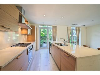 """Photo 6: 104 5838 BERTON Avenue in Vancouver: University VW Townhouse for sale in """"THE WESBROOK"""" (Vancouver West)  : MLS®# V1078429"""