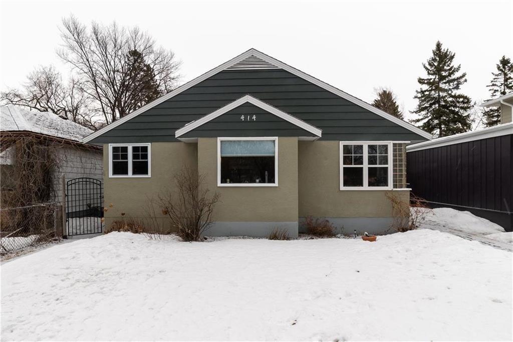 Main Photo: 414 Brock Street in Winnipeg: Residential for sale (1C)  : MLS®# 202006806