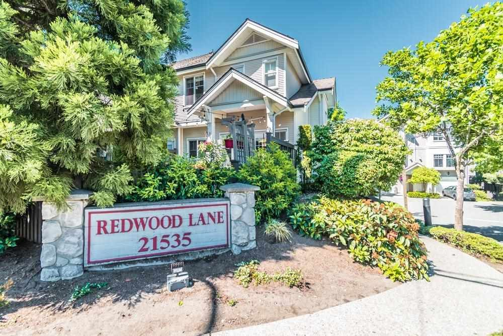 """Main Photo: 12 21535 88TH Avenue in Langley: Walnut Grove Townhouse for sale in """"Redwood Lane"""" : MLS®# R2586469"""