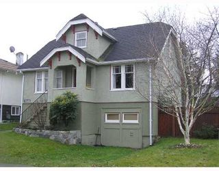 Main Photo: 2776 CHEYENNE Avenue in Vancouver: Collingwood VE House for sale (Vancouver East)  : MLS®# V694521