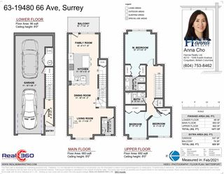 """Photo 33: 63 19480 66 Avenue in Surrey: Clayton Townhouse for sale in """"TWO BLUE II"""" (Cloverdale)  : MLS®# R2537453"""
