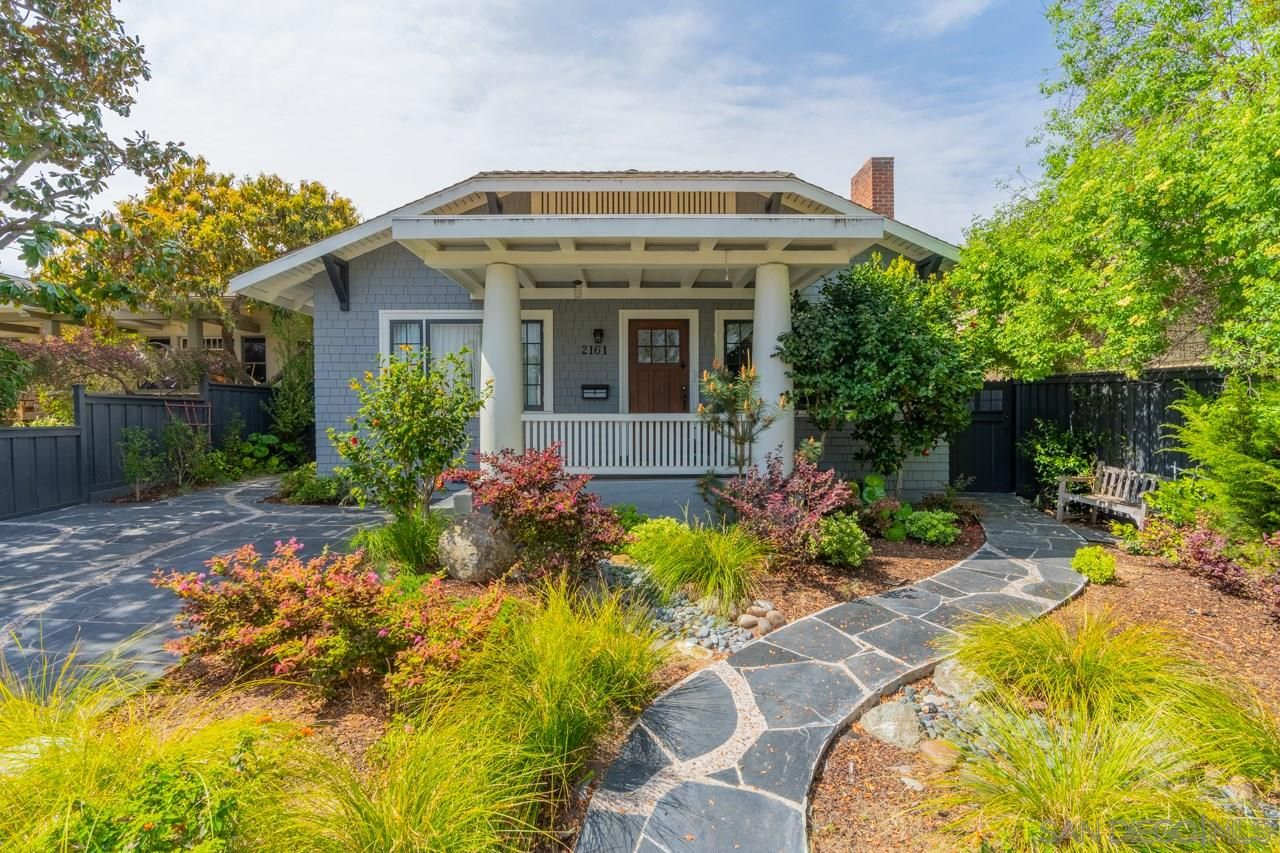 Main Photo: MISSION HILLS House for sale : 2 bedrooms : 2161 Pine Street in San Diego