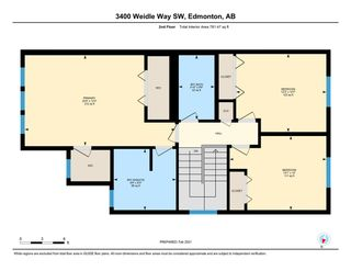 Photo 29: 3400 WEIDLE Way in Edmonton: Zone 53 House Half Duplex for sale : MLS®# E4229486