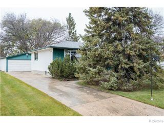 Photo 20: 406 Rouge Road in WINNIPEG: Westwood / Crestview Residential for sale (West Winnipeg)  : MLS®# 1600454