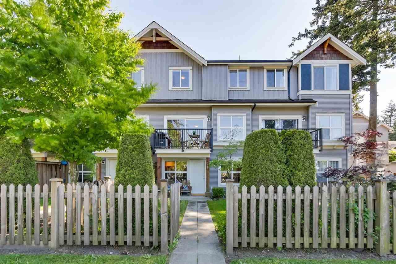 "Main Photo: 71 12677 63 Avenue in Surrey: Panorama Ridge Townhouse for sale in ""SUNRIDGE ESTATES"" : MLS®# R2269578"