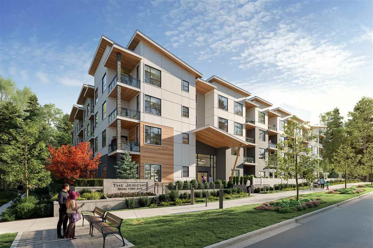 """Main Photo: 314 20343 72 Avenue in Langley: Willoughby Heights Condo for sale in """"THE JERICHO"""" : MLS®# R2586899"""