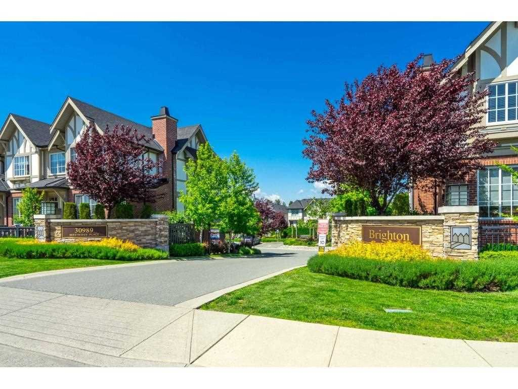 """Main Photo: 113 30989 WESTRIDGE Place in Abbotsford: Abbotsford West Townhouse for sale in """"Brighton at Westerleigh"""" : MLS®# R2583350"""