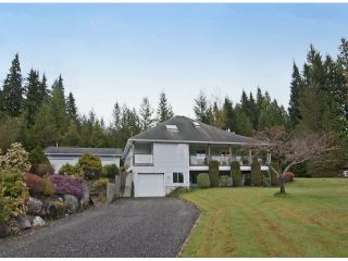 Photo 1: 12476 POWELL ST in Mission: Stave Falls House for sale : MLS®# F1409848