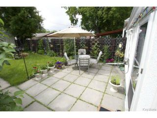 Photo 17: 111 Bristol Avenue in WINNIPEG: St Boniface Residential for sale (South East Winnipeg)  : MLS®# 1416232