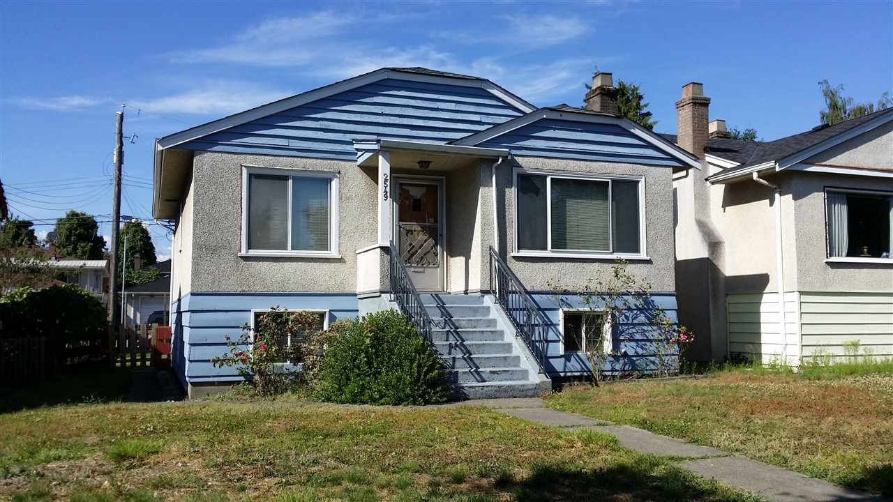Main Photo: 2549 E 16TH Avenue in Vancouver: Renfrew Heights House for sale (Vancouver East)  : MLS®# R2168584