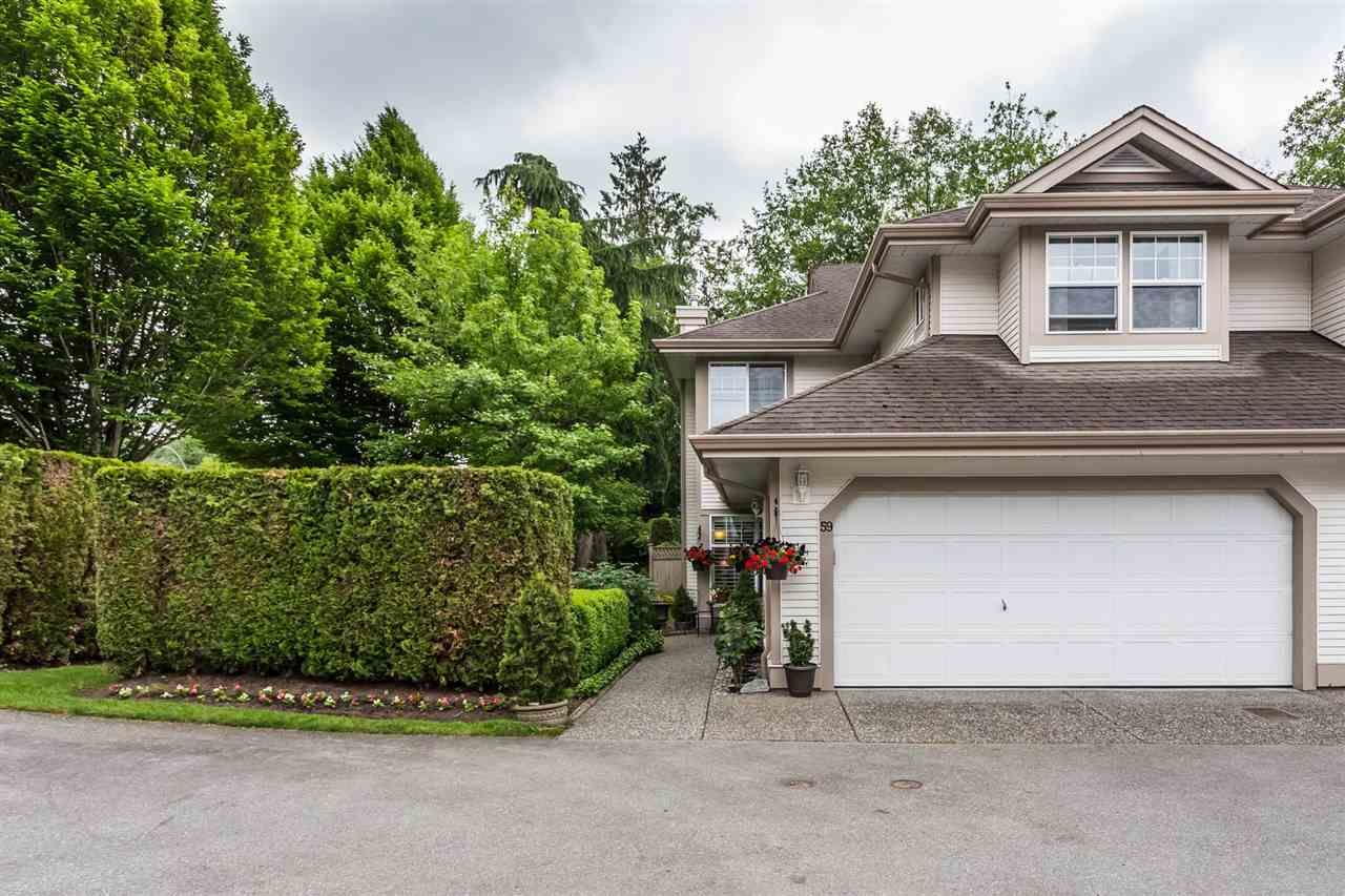 """Main Photo: 59 9025 216 Street in Langley: Walnut Grove Townhouse for sale in """"COVENTRY WOODS"""" : MLS®# R2277540"""