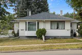 Main Photo: 669 Northmount Drive NW in Calgary: Cambrian Heights Semi Detached for sale : MLS®# A1136941