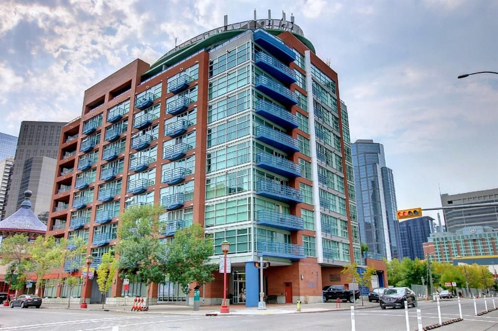 Main Photo: 512 205 Riverfront Avenue SW in Calgary: Chinatown Apartment for sale : MLS®# A1145354