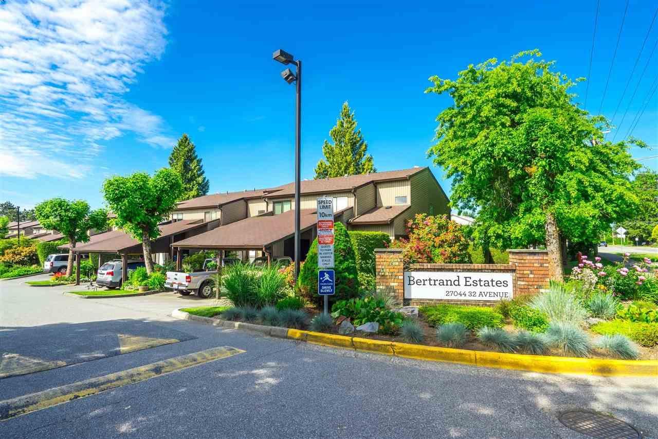 "Main Photo: 137 27044 32 Avenue in Langley: Aldergrove Langley Townhouse for sale in ""Bertrand Estates"" : MLS®# R2589039"