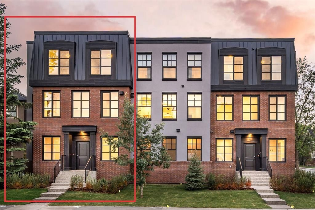 Main Photo: 4305 16 Street SW in Calgary: Altadore Row/Townhouse for sale : MLS®# A1065377