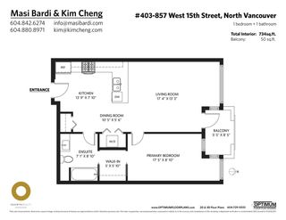 """Photo 26: 403 857 W 15TH Street in North Vancouver: Mosquito Creek Condo for sale in """"THE VUE"""" : MLS®# R2593462"""