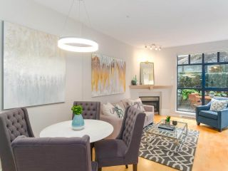 """Photo 6: 107 2688 VINE Street in Vancouver: Kitsilano Townhouse for sale in """"THE TREO"""" (Vancouver West)  : MLS®# R2406674"""