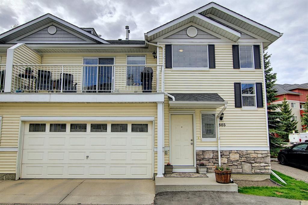 Main Photo: 503 Country Village Cape NE in Calgary: Country Hills Village Row/Townhouse for sale : MLS®# A1111212