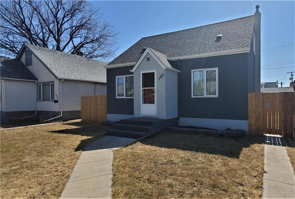 Main Photo: 186 Newton Avenue in Winnipeg: Scotia Heights Residential for sale (4D)  : MLS®# 202008257