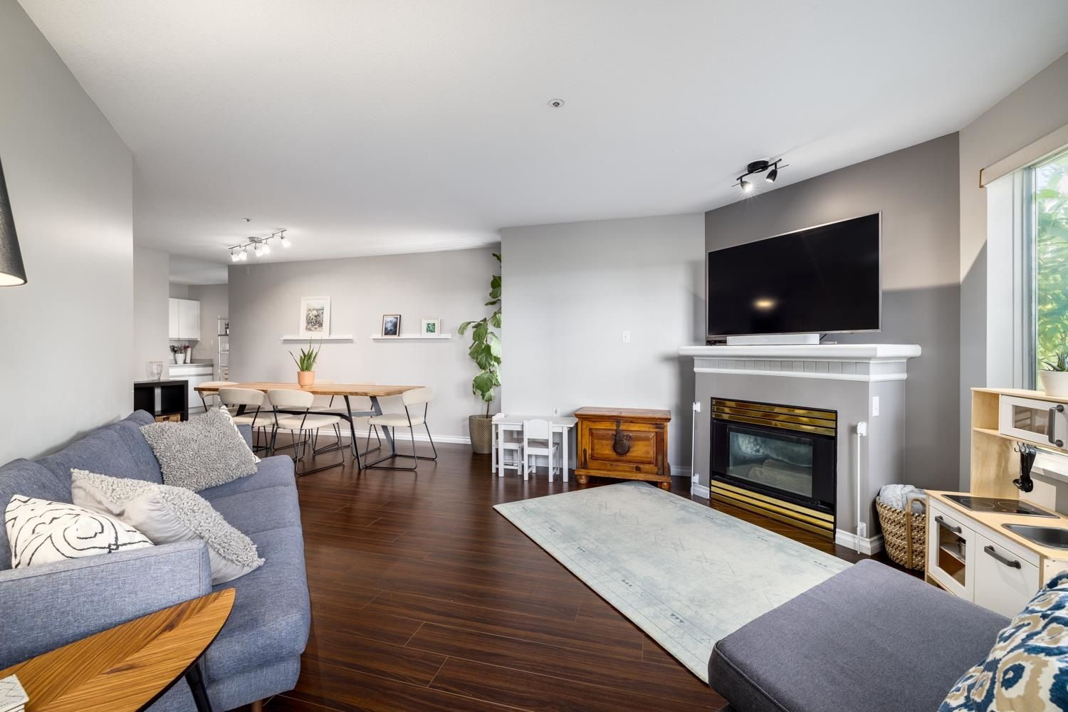 Main Photo: 209 1219 JOHNSON STREET in Coquitlam: Canyon Springs Condo for sale : MLS®# R2606342