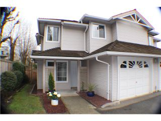 "Photo 1: 25 12188 HARRIS Road in Pitt Meadows: Central Meadows Townhouse for sale in ""WATERFORD PLACE"" : MLS®# V1056853"
