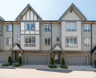 """Photo 1: 77 8138 204 Street in Langley: Willoughby Heights Townhouse for sale in """"Ashbury & Oak"""" : MLS®# R2601036"""