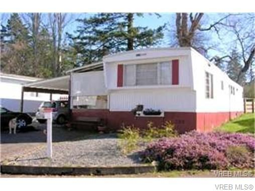 Main Photo: 33 1201 Craigflower Rd in VICTORIA: VR Glentana Manufactured Home for sale (View Royal)  : MLS®# 654887