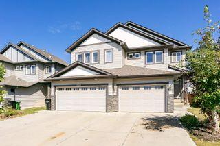 Photo 1: 17612 8 Avenue in Edmonton: Zone 56 House Half Duplex for sale : MLS®# E4261664