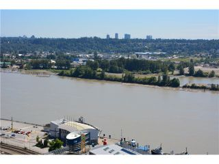 """Photo 2: 3205 898 CARNARVON Street in New Westminster: Downtown NW Condo for sale in """"AZURE 1 @ PLAZA 88"""" : MLS®# V1078443"""