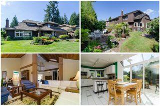 "Photo 1: 11648 HYLAND Drive in Delta: Sunshine Hills Woods House for sale in ""SUNSHINE HILLS"" (N. Delta)  : MLS®# F1417122"