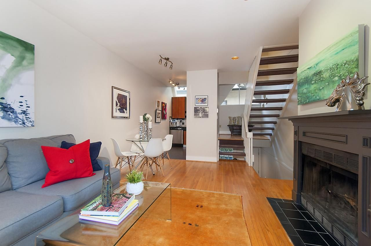 """Main Photo: 2415 W 6TH Avenue in Vancouver: Kitsilano Townhouse for sale in """"Cute Place In Kitsilano"""" (Vancouver West)  : MLS®# R2129865"""