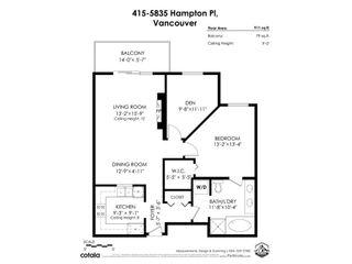 Photo 34: 415 5835 HAMPTON PLACE in Vancouver: University VW Condo for sale (Vancouver West)  : MLS®# R2575411