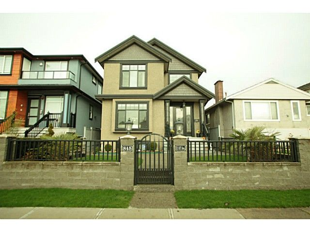 Main Photo: 845 57 Avenue in Vancouver: South Vancouver House for sale (Vancouver East)  : MLS®# V1105469