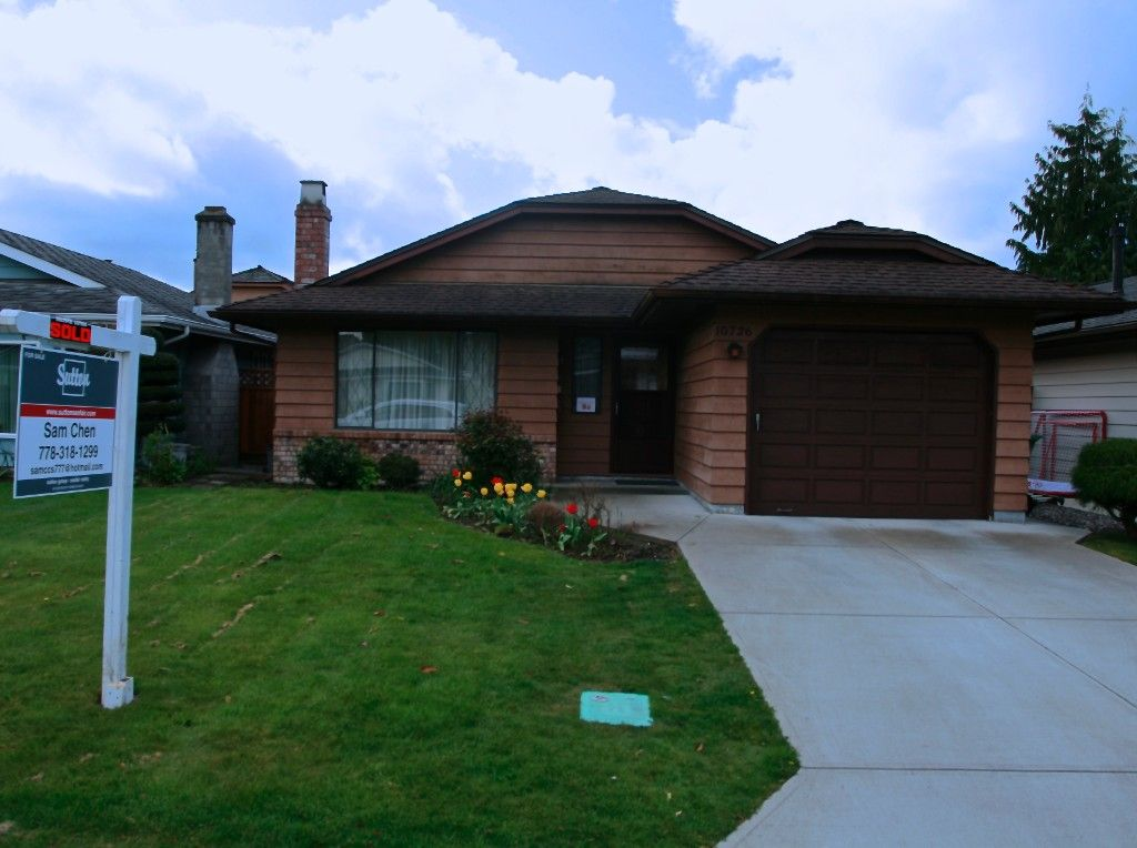 Main Photo: 10726 Canso Crescent in Richmond: House for sale : MLS®# v1115023