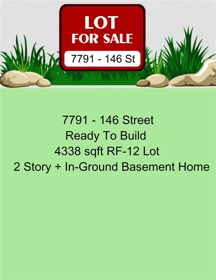 Main Photo: 7791 146 Street in Surrey: East Newton Land for sale : MLS®# R2530869