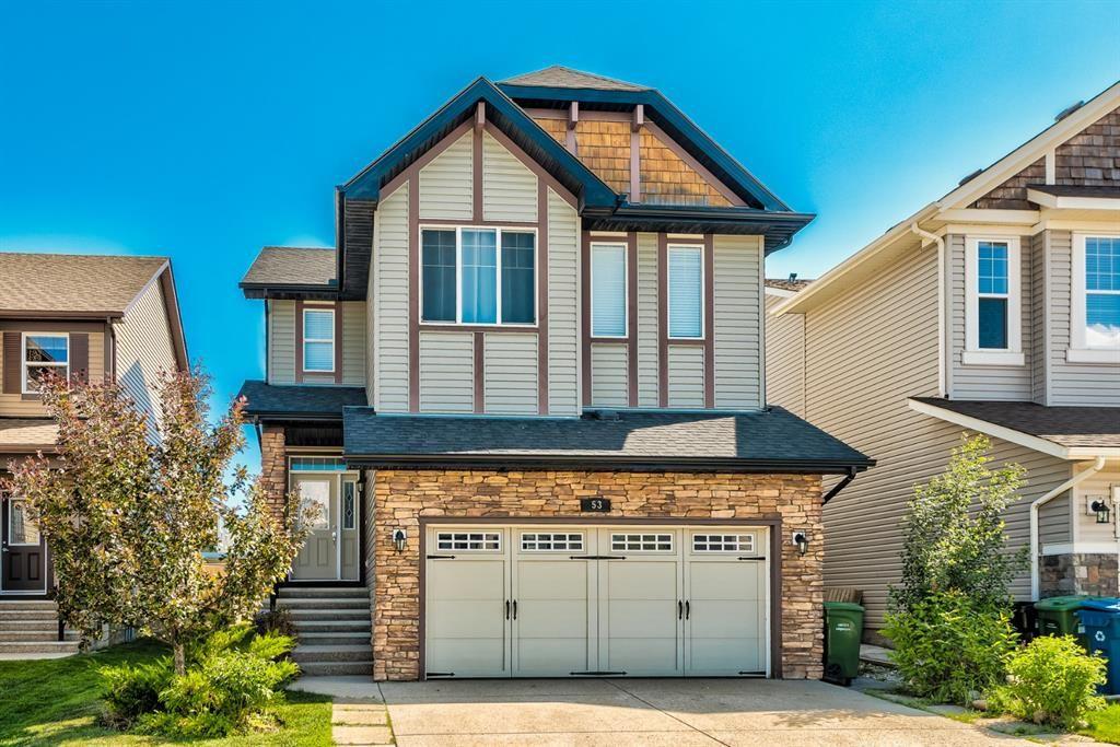 Main Photo: 53 Silverado Skies Drive SW in Calgary: Silverado Detached for sale : MLS®# A1121435
