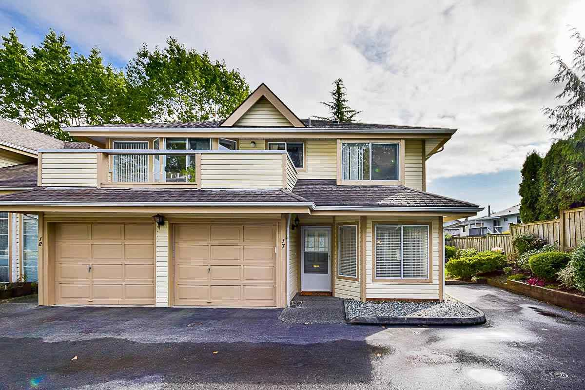 """Main Photo: 17 9971 151 Street in Surrey: Guildford Townhouse for sale in """"Spencer's Gate"""" (North Surrey)  : MLS®# R2111664"""