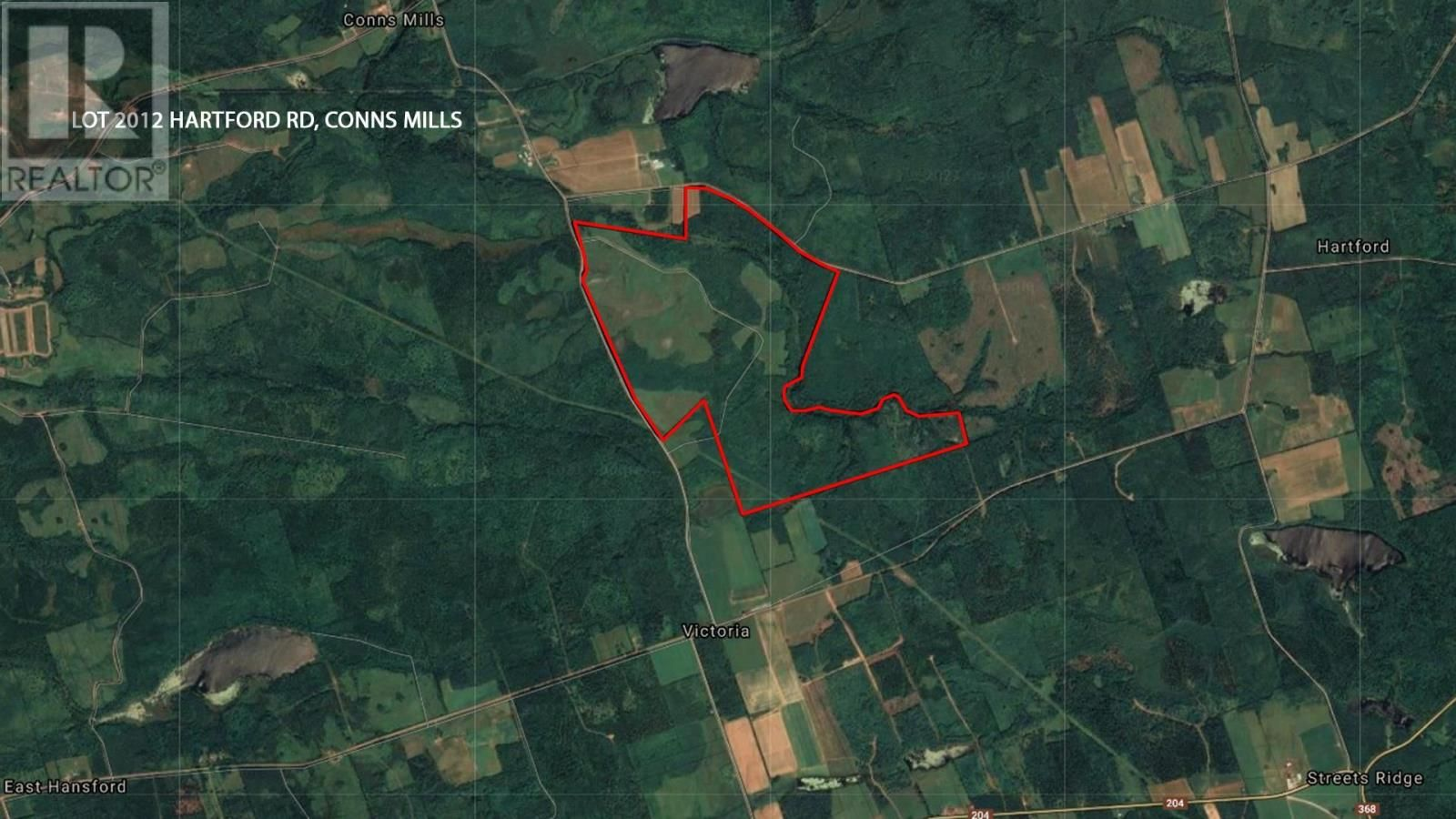 Main Photo: Lot 2012-1 Hartford Rd in Conns Mills: Agriculture for sale : MLS®# 202110150