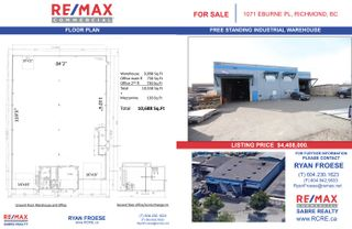 Photo 13: 1071 Eburne Place in Richmond: Industrial for sale