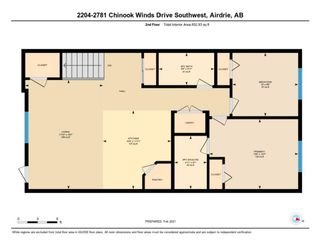 Photo 25: 2204 2781 Chinook Winds Drive SW: Airdrie Row/Townhouse for sale : MLS®# A1068164