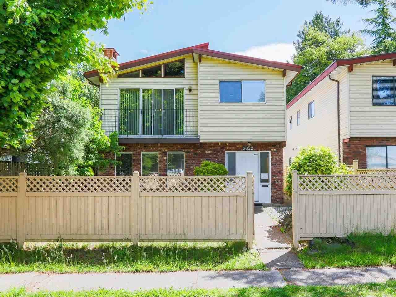 Main Photo: 5322 SHERBROOKE Street in Vancouver: Knight House for sale (Vancouver East)  : MLS®# R2588172