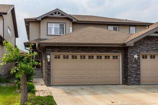 Photo 1: 116 CALVERT Wynd: Fort Saskatchewan House Half Duplex for sale : MLS®# E4260031