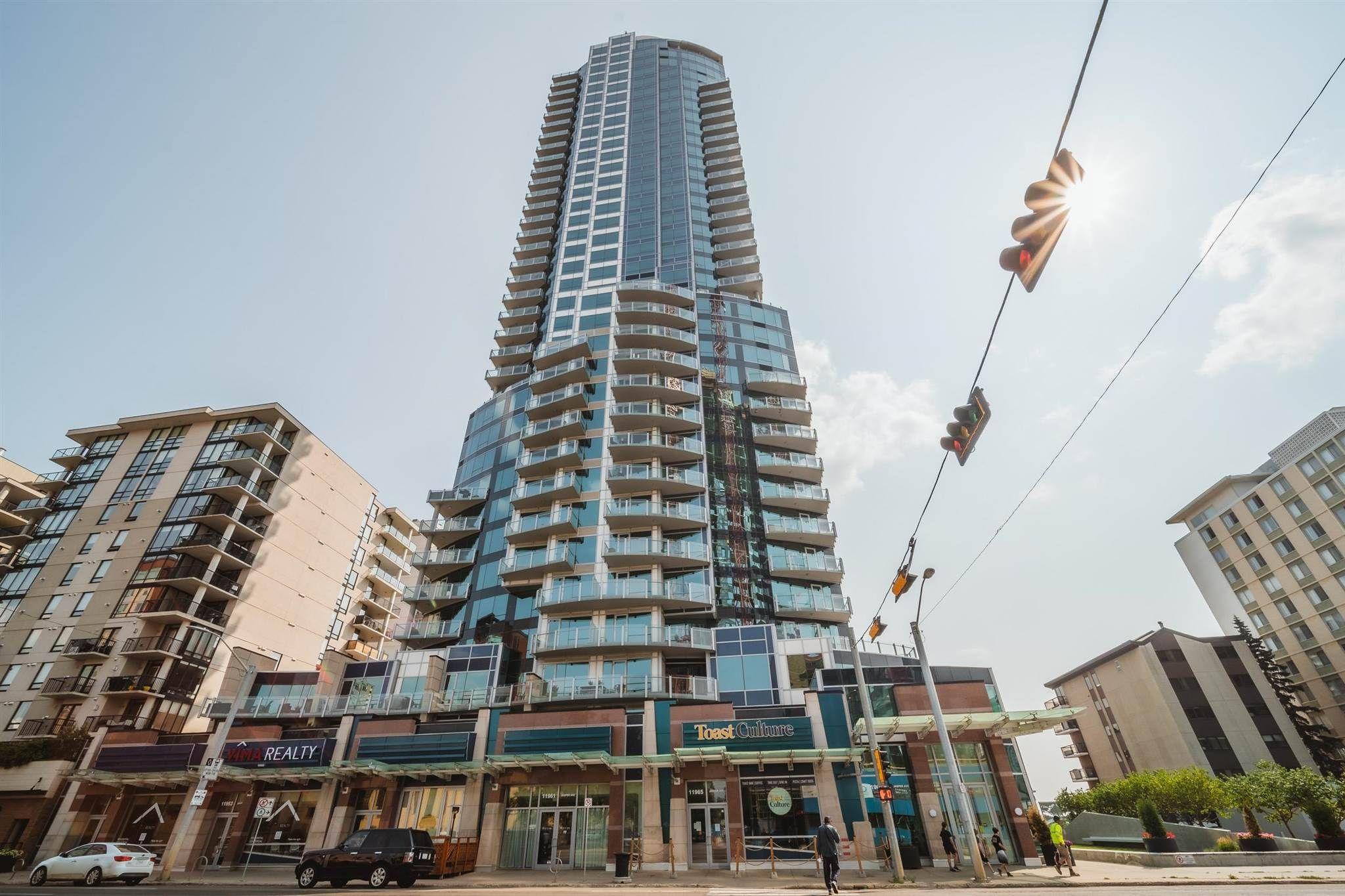 Main Photo: 2302 11969 JASPER Avenue in Edmonton: Zone 12 Condo for sale : MLS®# E4257239