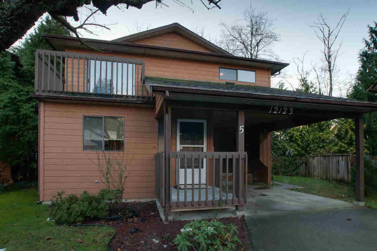 Main Photo: 5 12123 222ND STREET in : West Central House for sale : MLS®# V859990