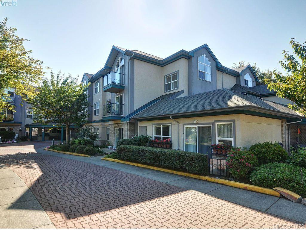 Main Photo: 114 1485 Garnet Rd in VICTORIA: SE Cedar Hill Condo for sale (Saanich East)  : MLS®# 680957