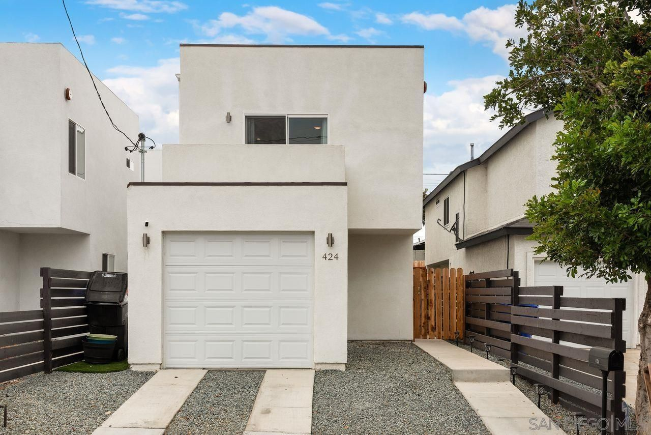 Main Photo: SAN DIEGO House for sale : 4 bedrooms : 424 Morrison Street