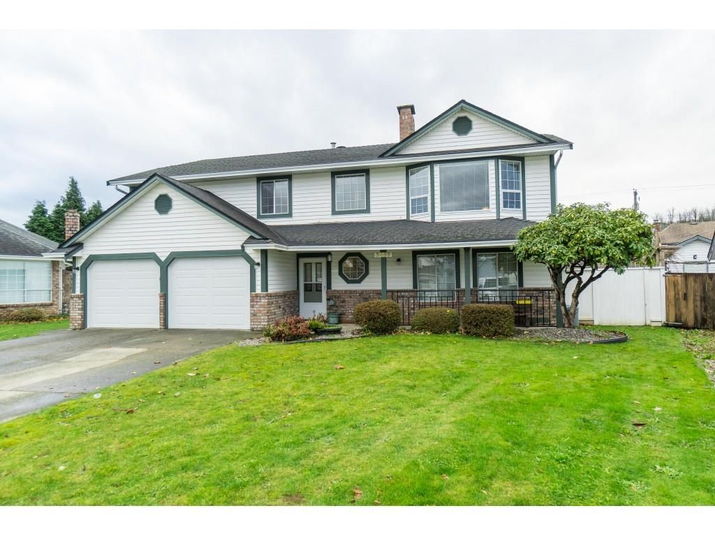 Main Photo: 3453 CRESTON Drive in Abbotsford: Abbotsford West House for sale : MLS®# R2519100